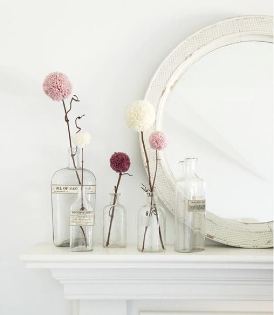 ponpon fleurs