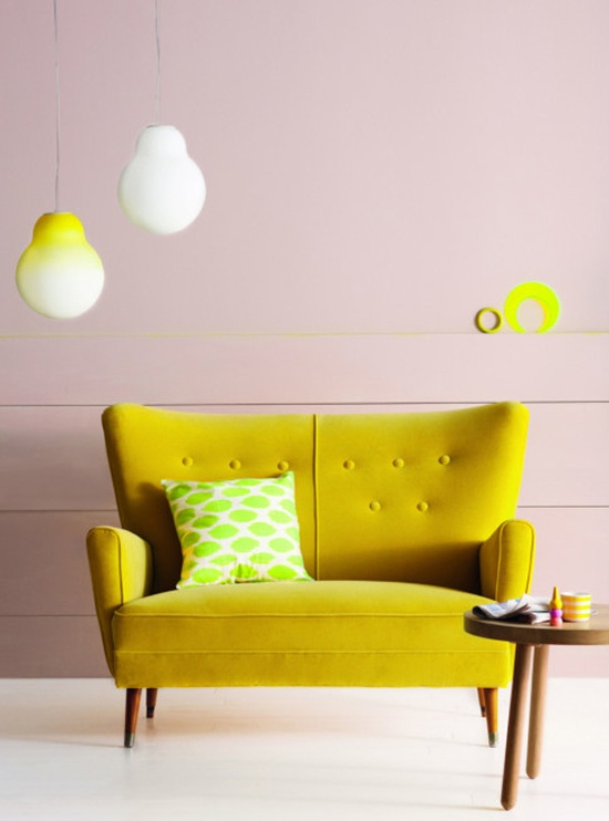 jaune banquette