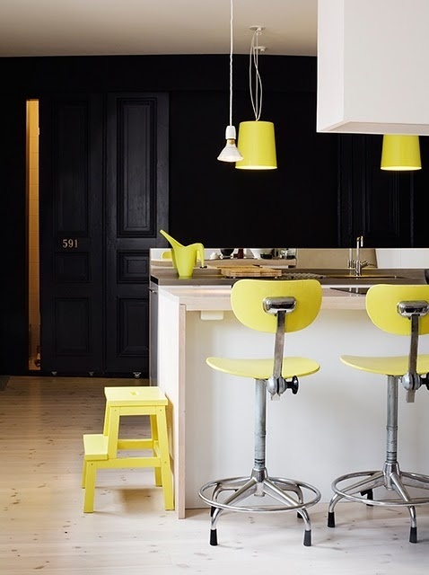 jaune cuisine