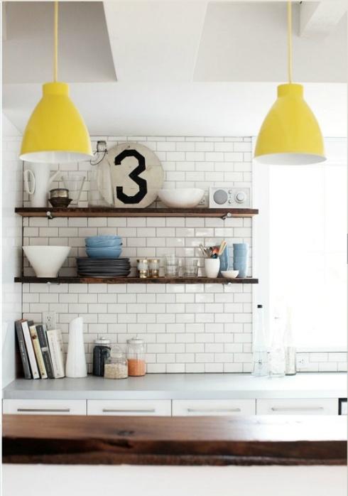 jaune lampe
