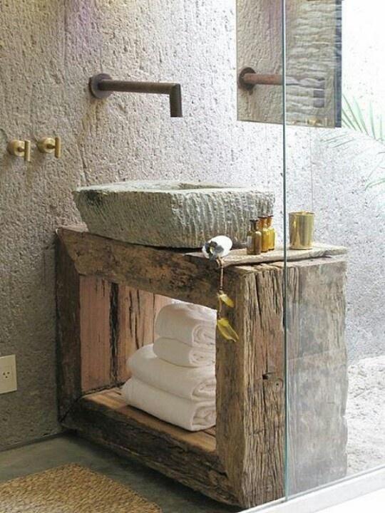 brut salle de bain