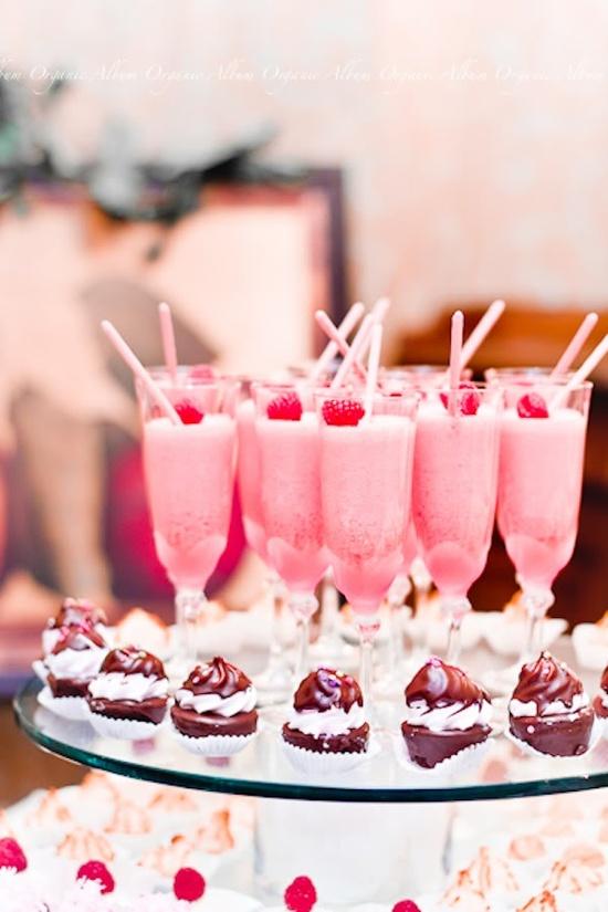 rose bonbon boisson