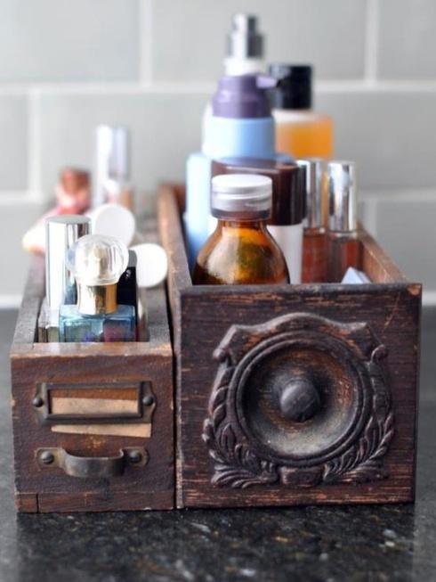 tiroir produits beauté