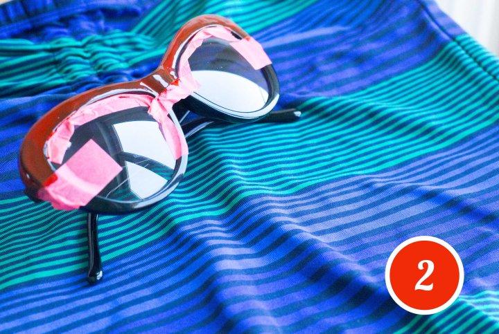 lunettes étape 2