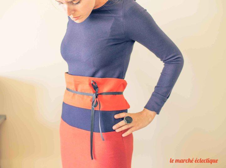 DIY ceinture OBI 1