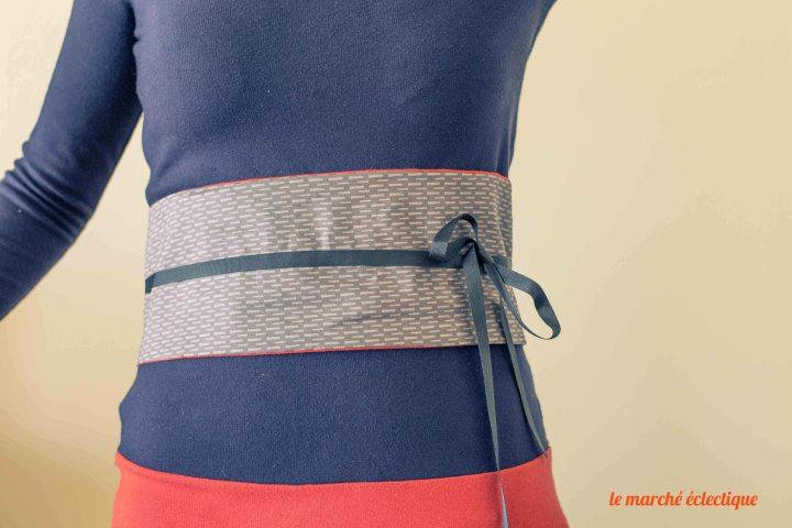 DIY ceinture OBI 4