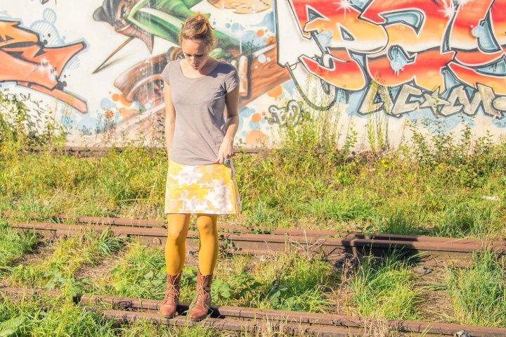 Faire une jupe avec une housse detraversin