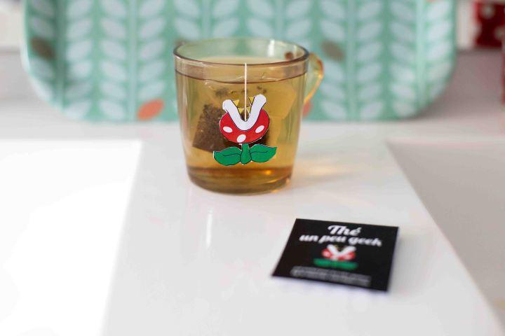 DIY : thé un peu geek (thé messager#2)